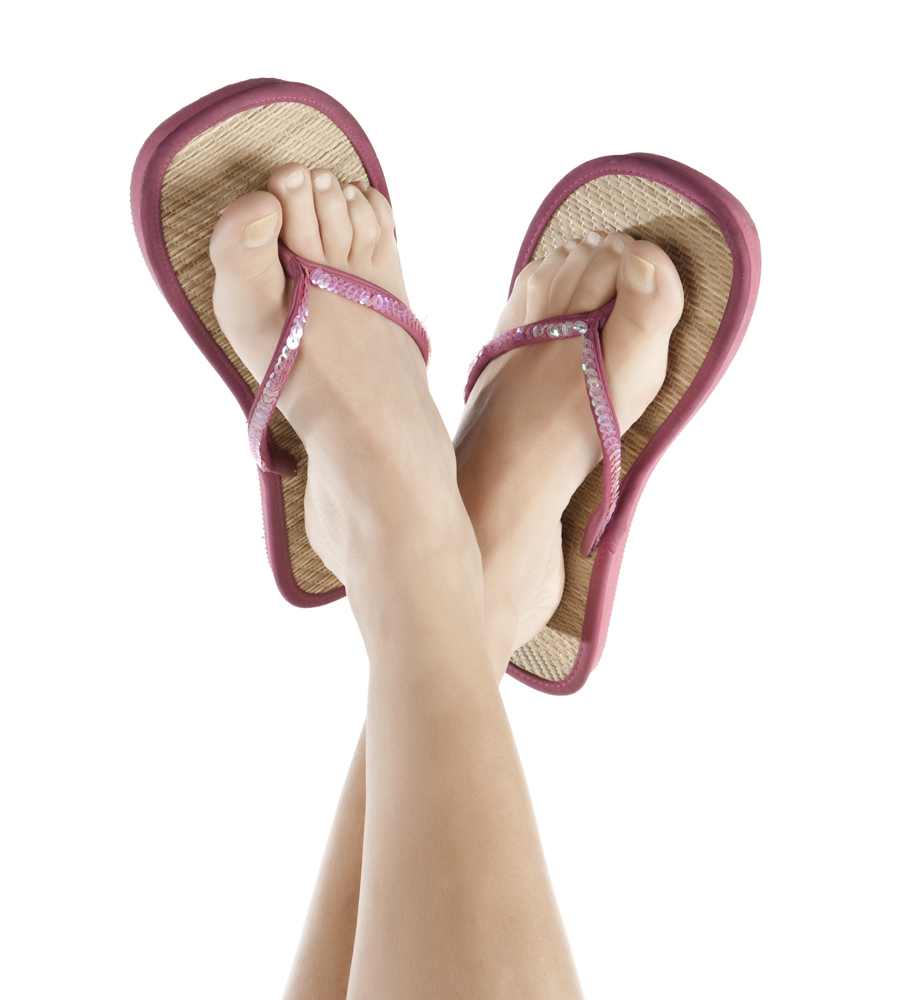 d382adc9e Flip-flops are a popular shoe to wear during the summer months